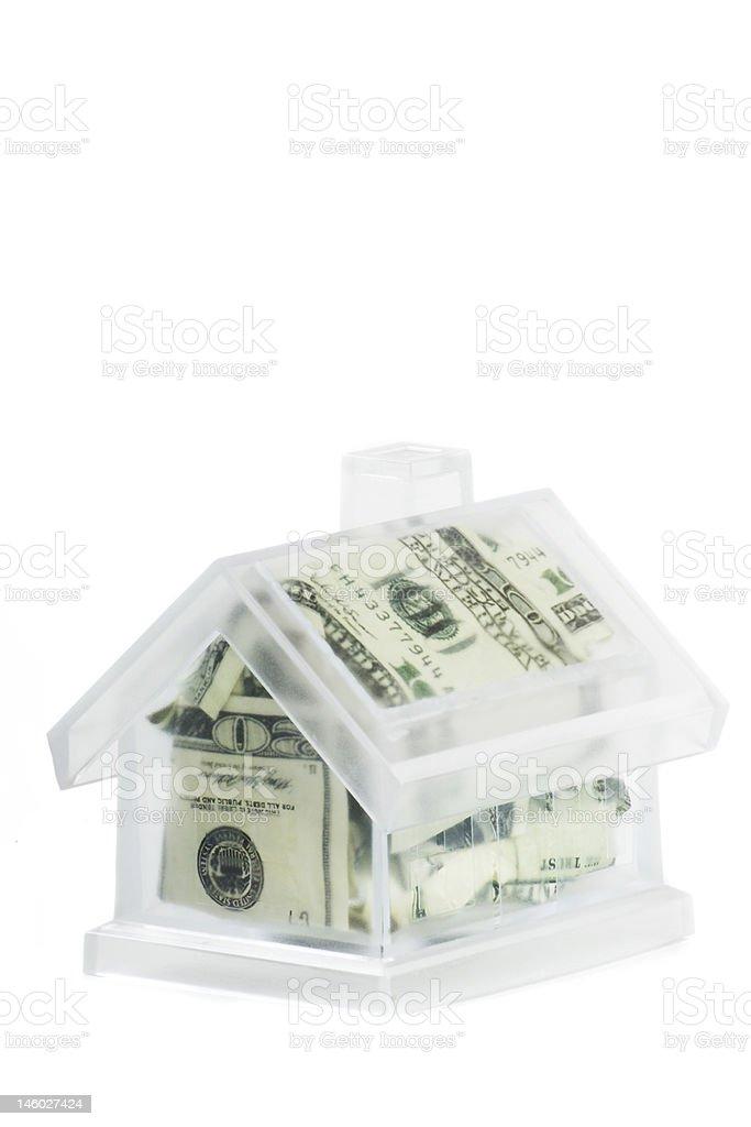 Money House stock photo