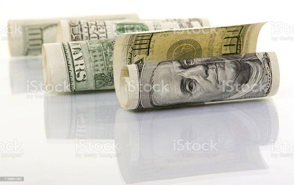 money in macro royalty-free stock photo