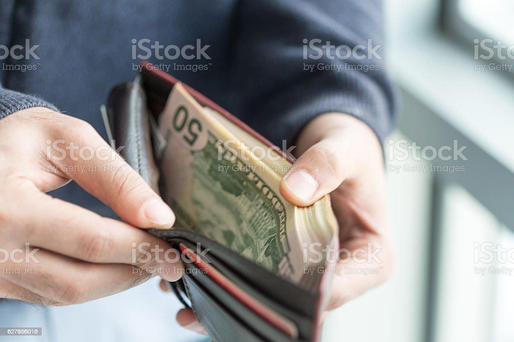 Money in the wallet