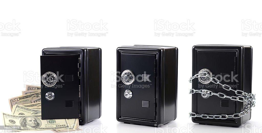 Money insurance royalty-free stock photo