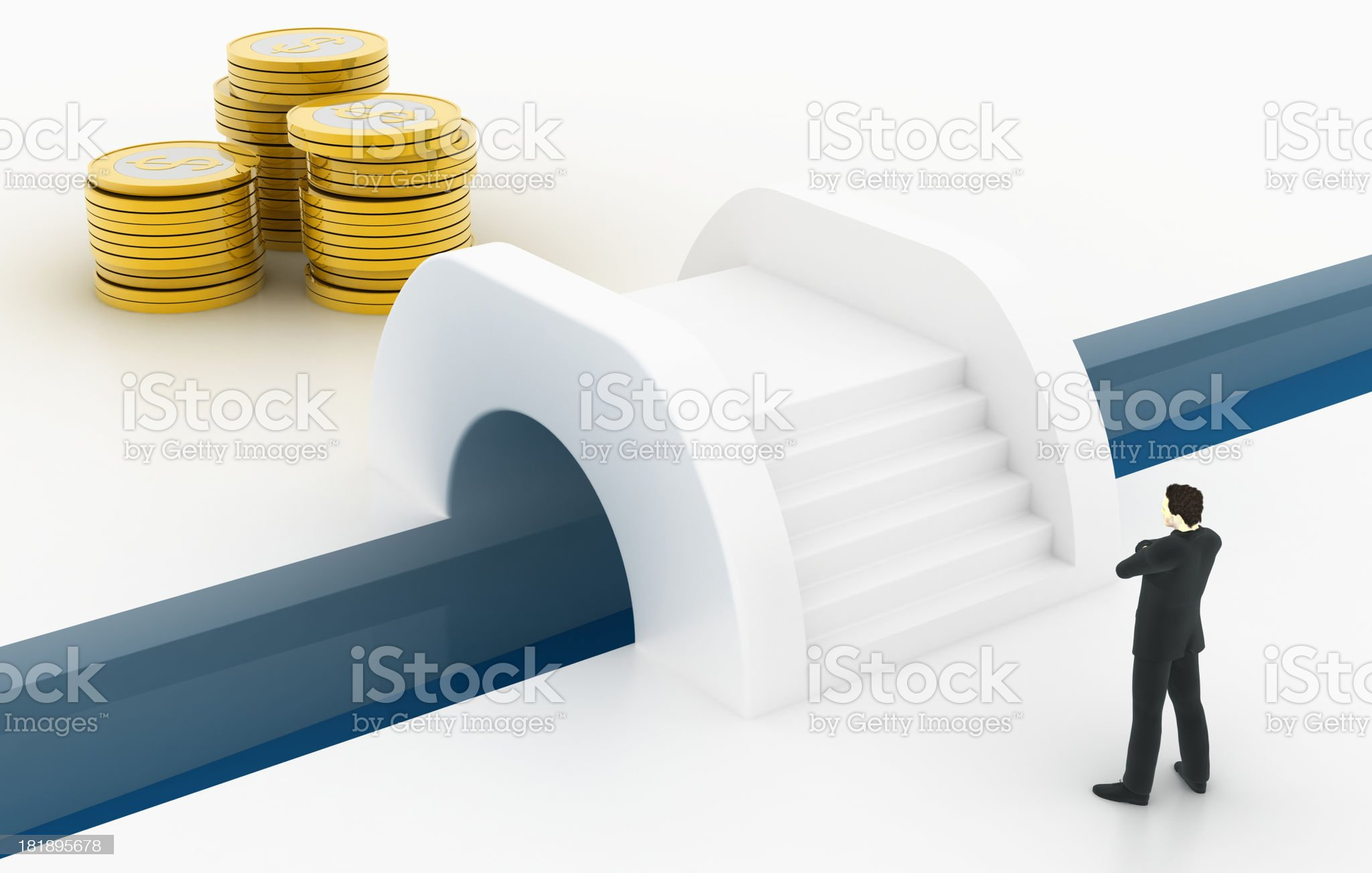 Money is my target royalty-free stock photo