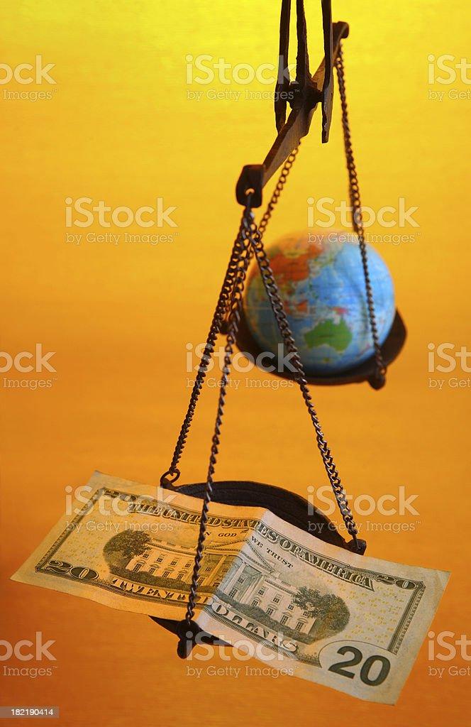 Money is Power royalty-free stock photo