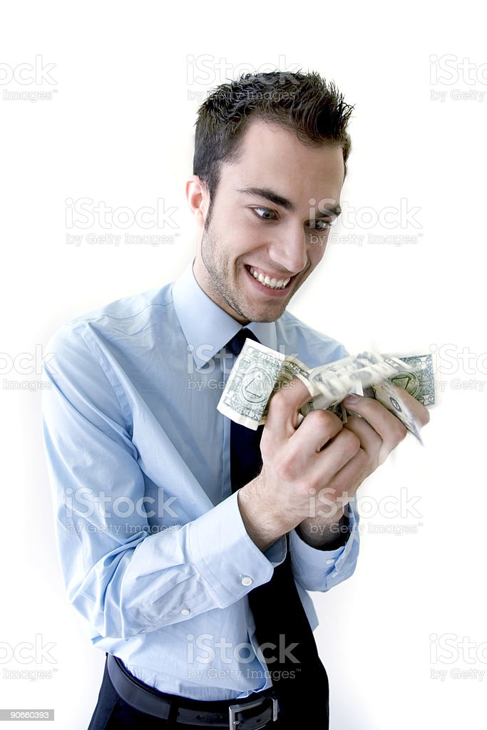 Money = Joy (3) royalty-free stock photo