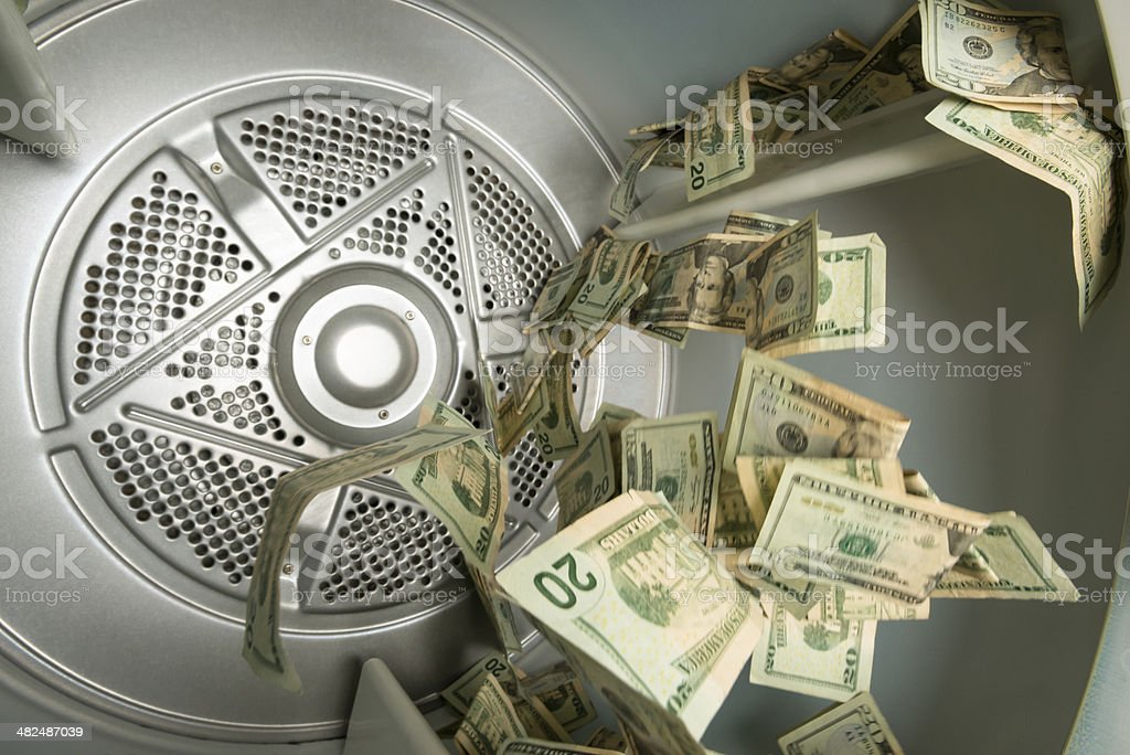 Money Laundering Concept royalty-free stock photo