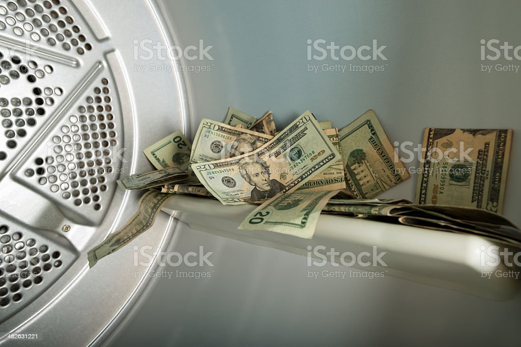 Money Laundering Concept royalty-free stock photo