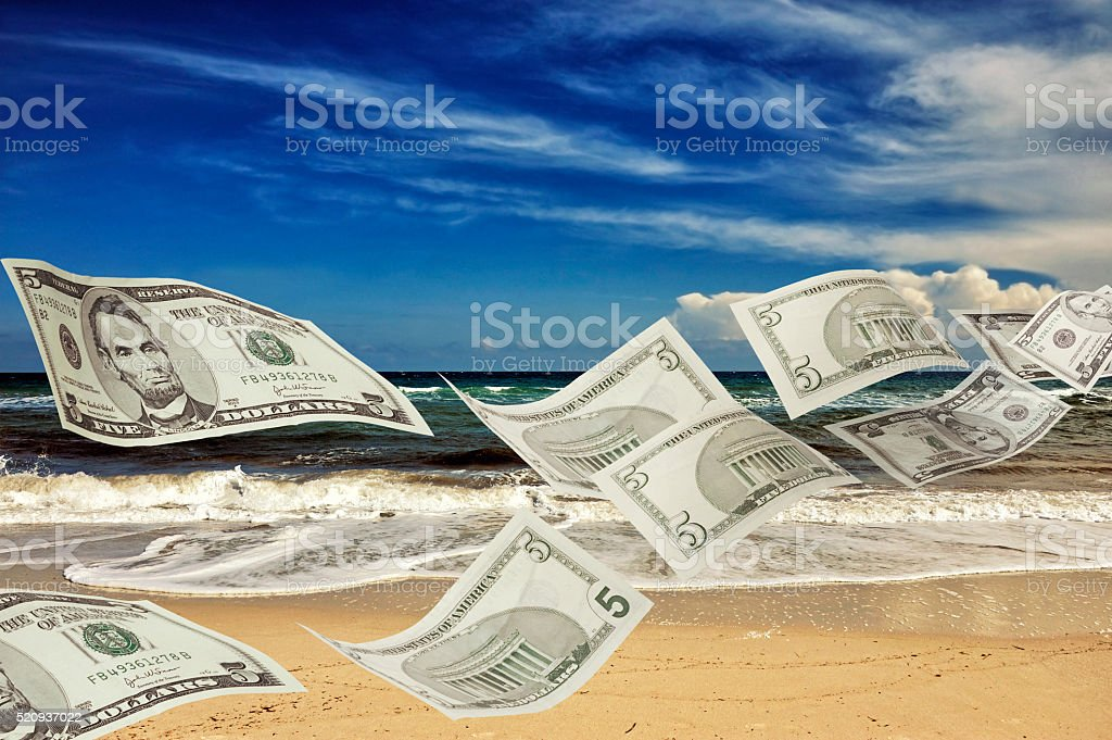 Money Laundering   -   (The Panama Papers) stock photo