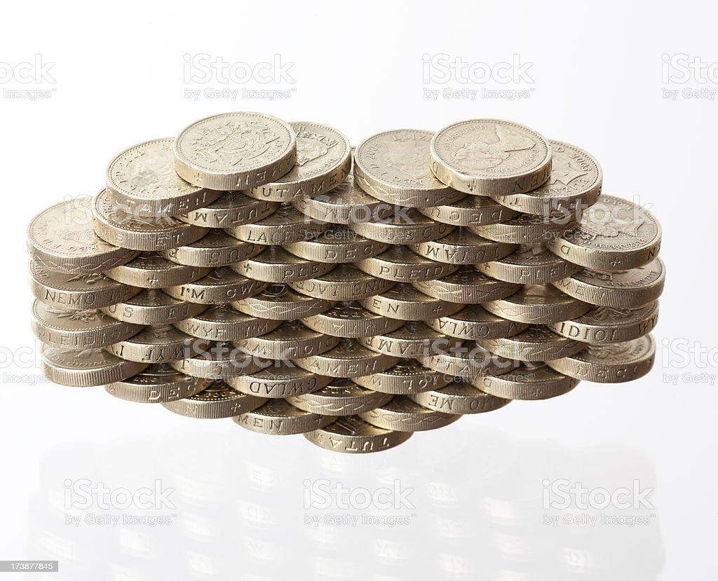 Money love royalty-free stock photo