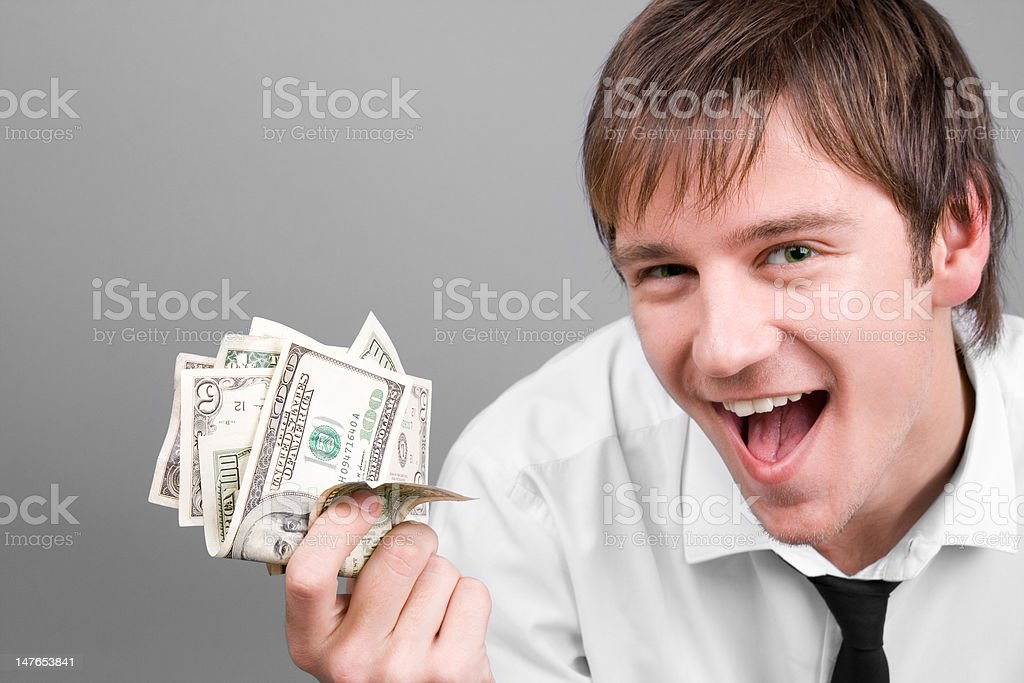 money making royalty-free stock photo