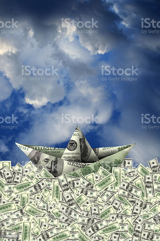 money making success stock photo