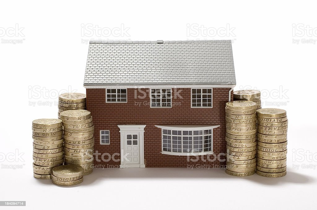 money nad home stock photo