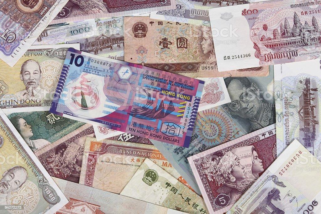 Money Of Asia stock photo