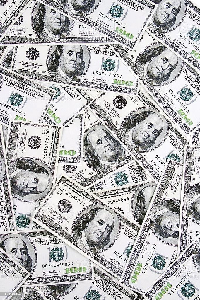 Money Pattern royalty-free stock photo