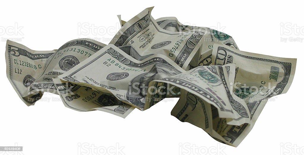 Money Pile 1 royalty-free stock photo