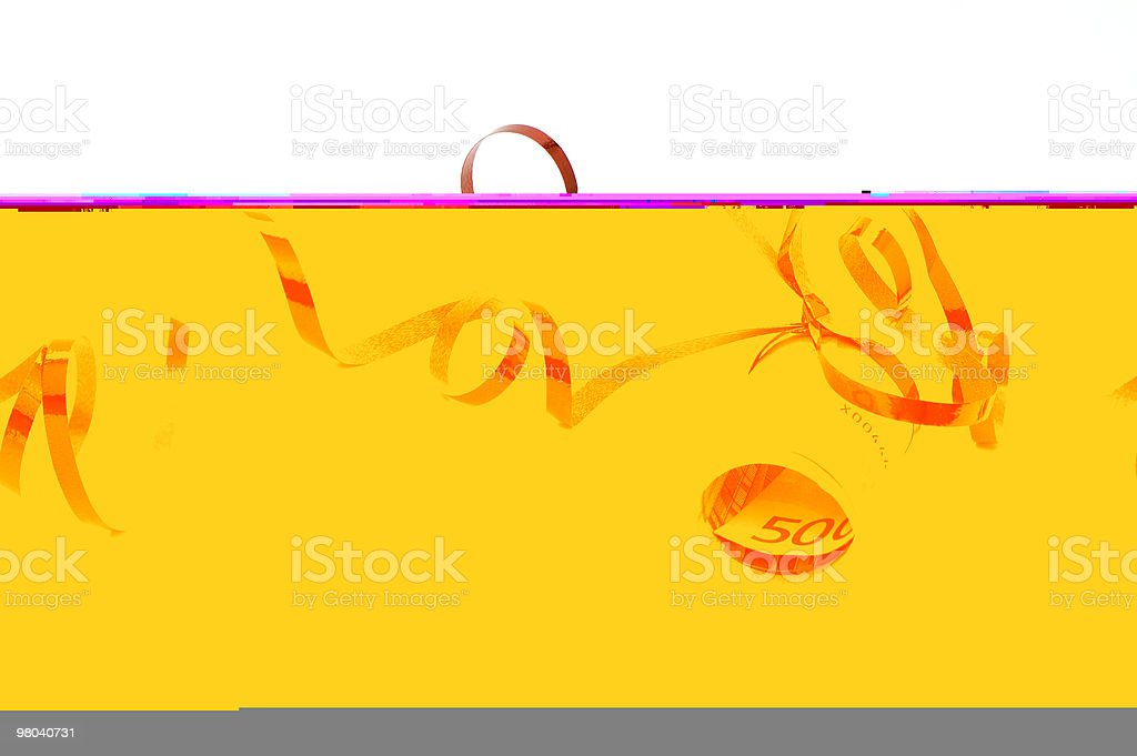 Money Present royalty-free stock photo