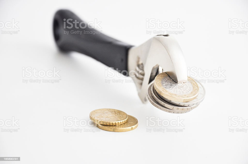 money pressure stock photo