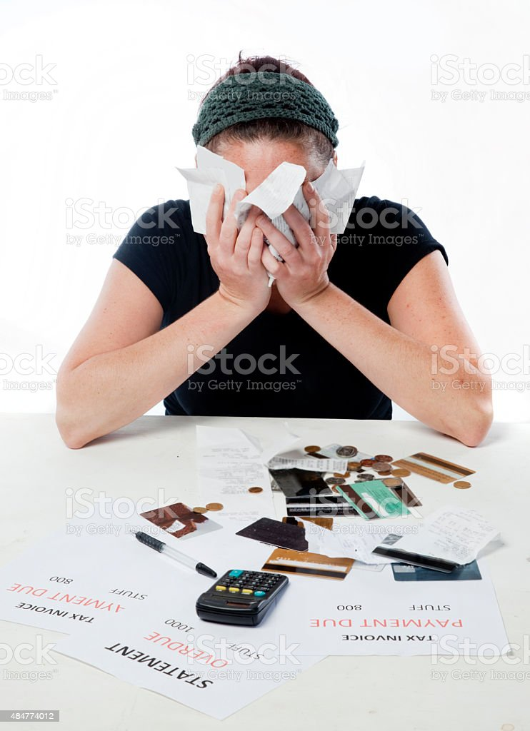 Money Problems stock photo
