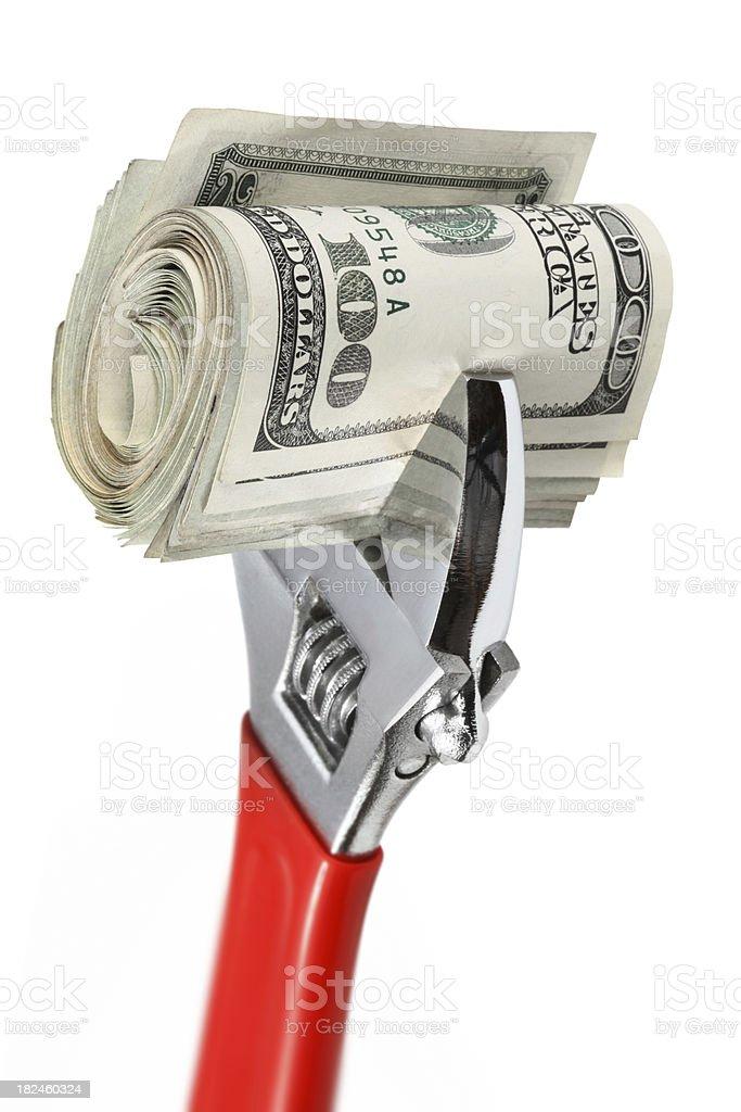Money Roll royalty-free stock photo