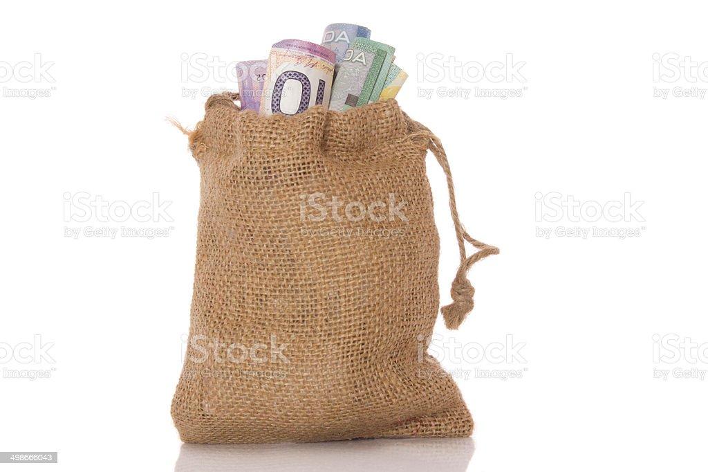 Money Sack stock photo