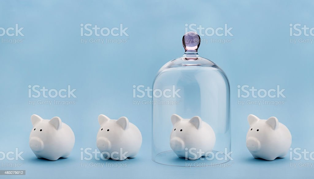 Money safety stock photo
