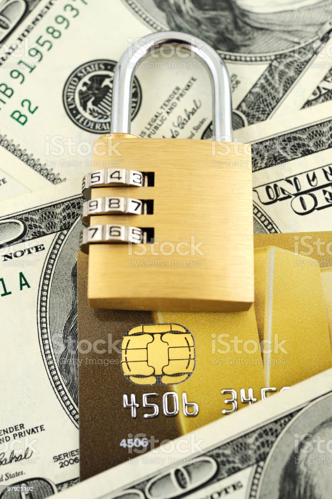 Money safety royalty-free stock photo