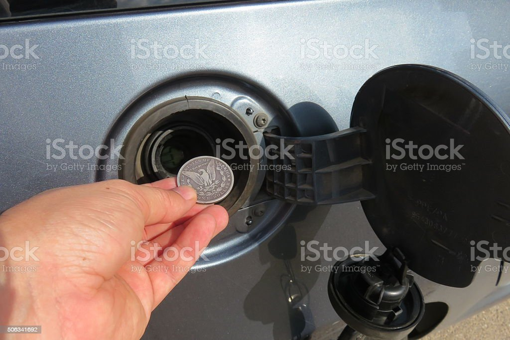 Money saved or wasted Concept stock photo