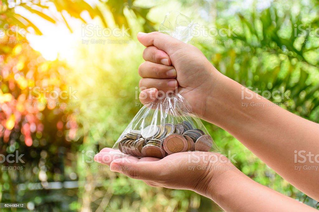 money saving concep royalty-free stock photo