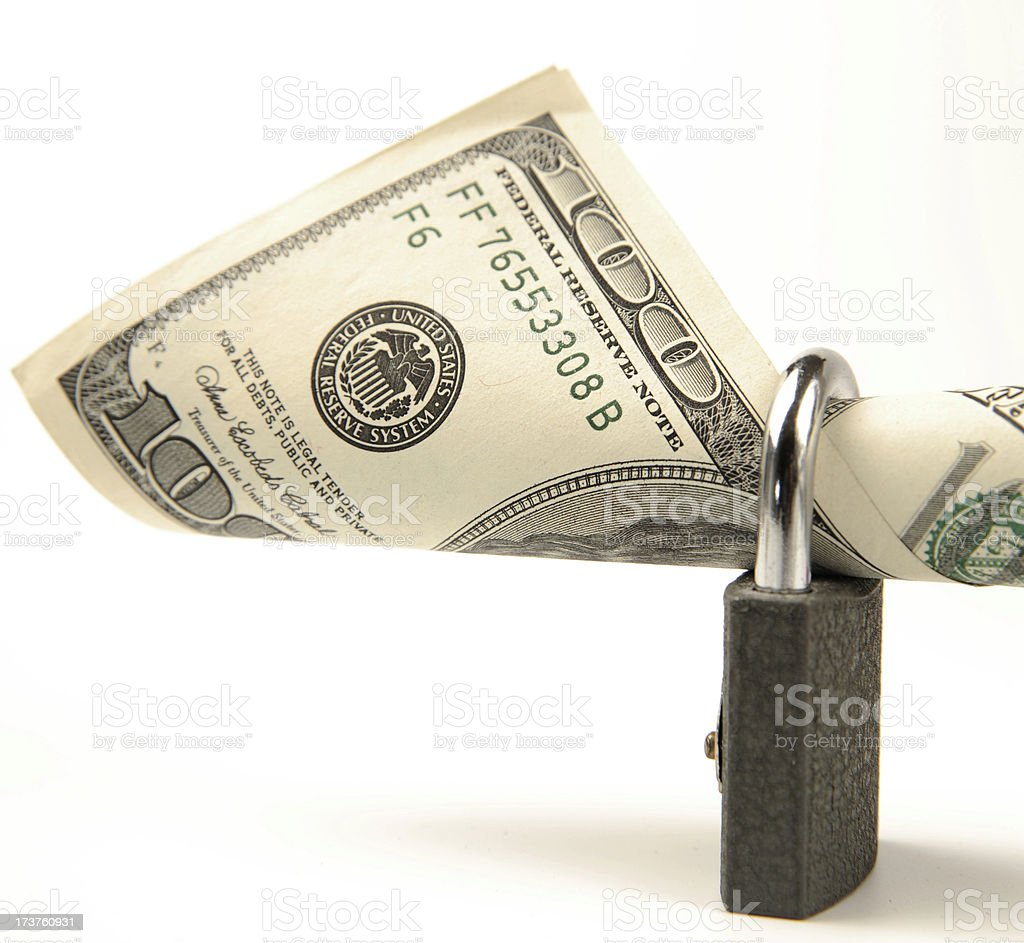 Money Security Series royalty-free stock photo