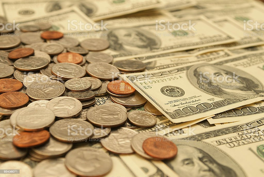 Money Series royalty-free stock photo