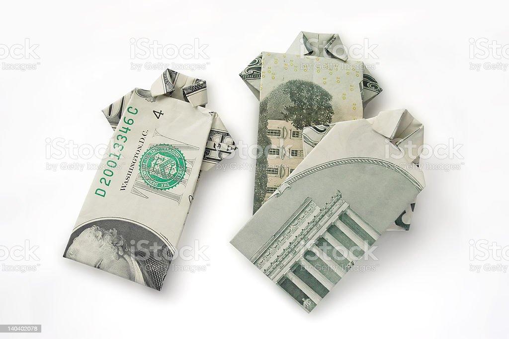 Money Shirt 4 royalty-free stock photo