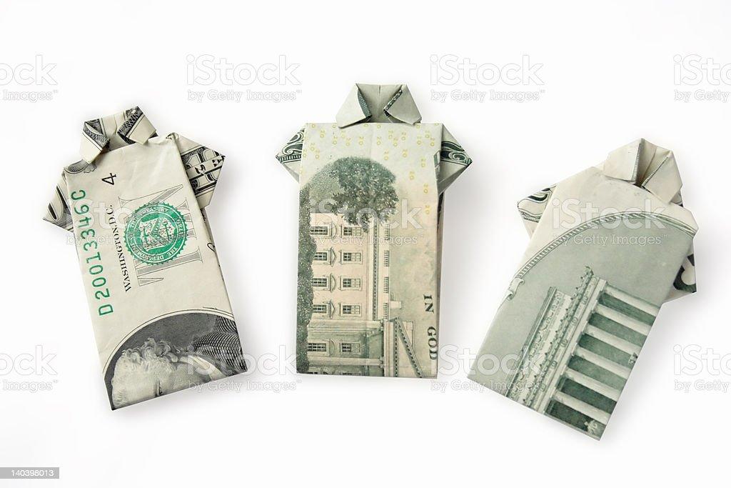 Money Shirts 1 royalty-free stock photo