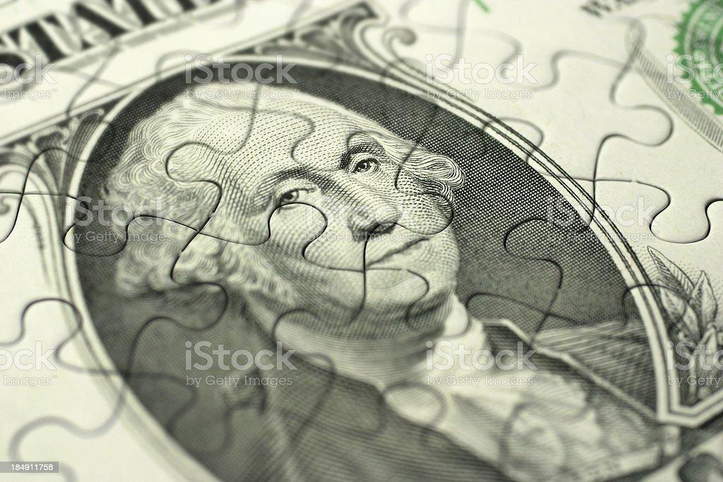 Money Strategy royalty-free stock photo