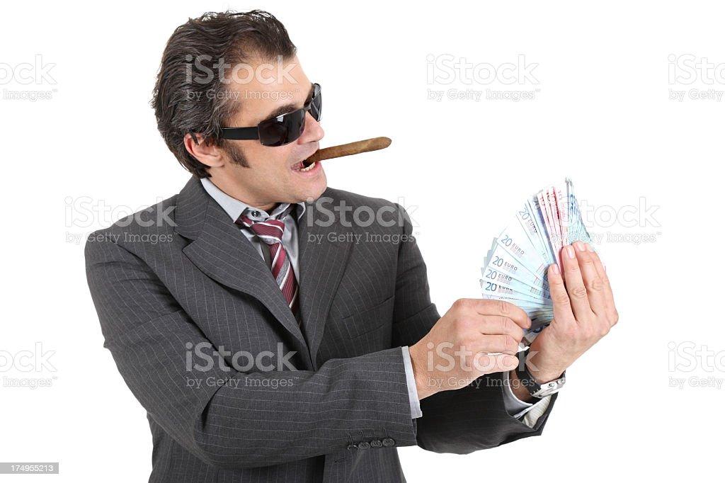 Money talk royalty-free stock photo