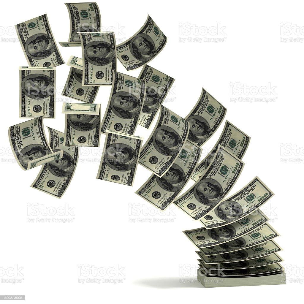money transfer 3d concept stock photo