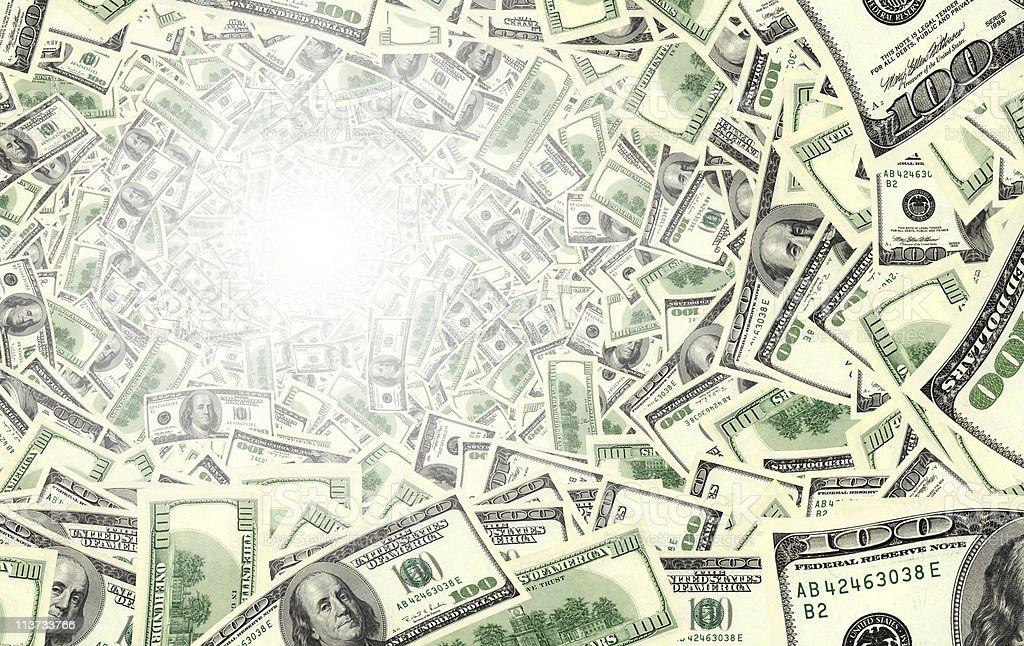 money tube royalty-free stock photo