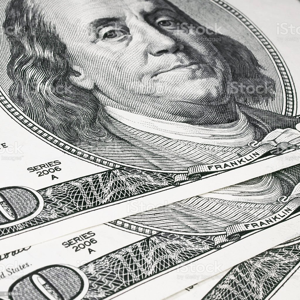 Money. US Dollars stock photo
