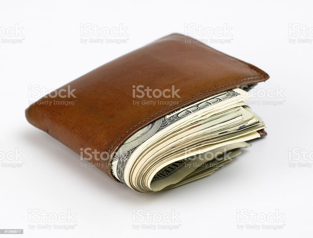 Money Wallet II stock photo