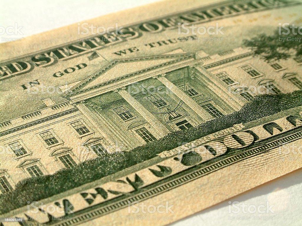 money - white house stock photo