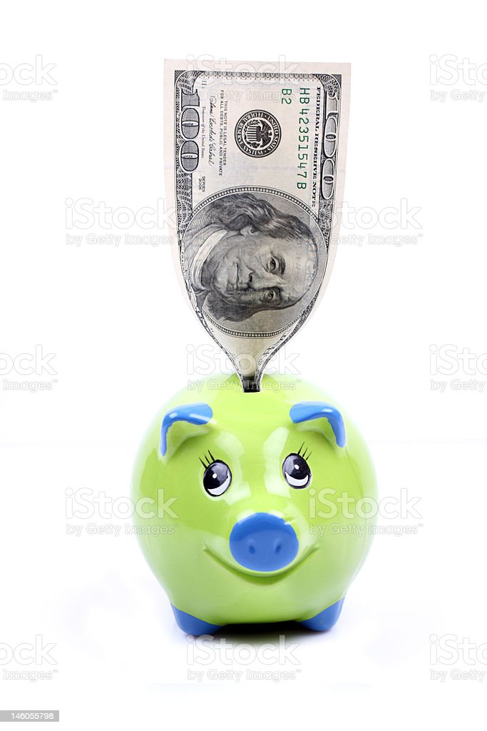 money-box royalty-free stock photo