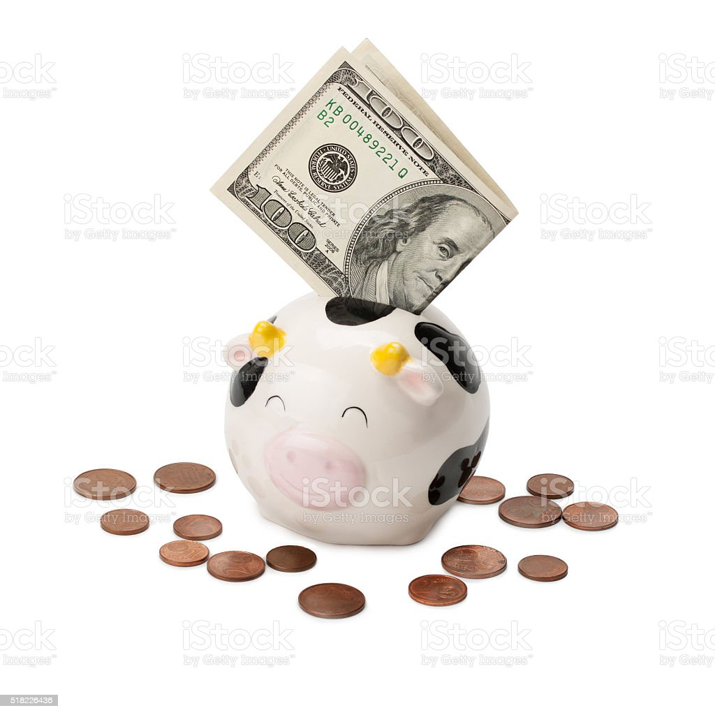 moneybox stock photo