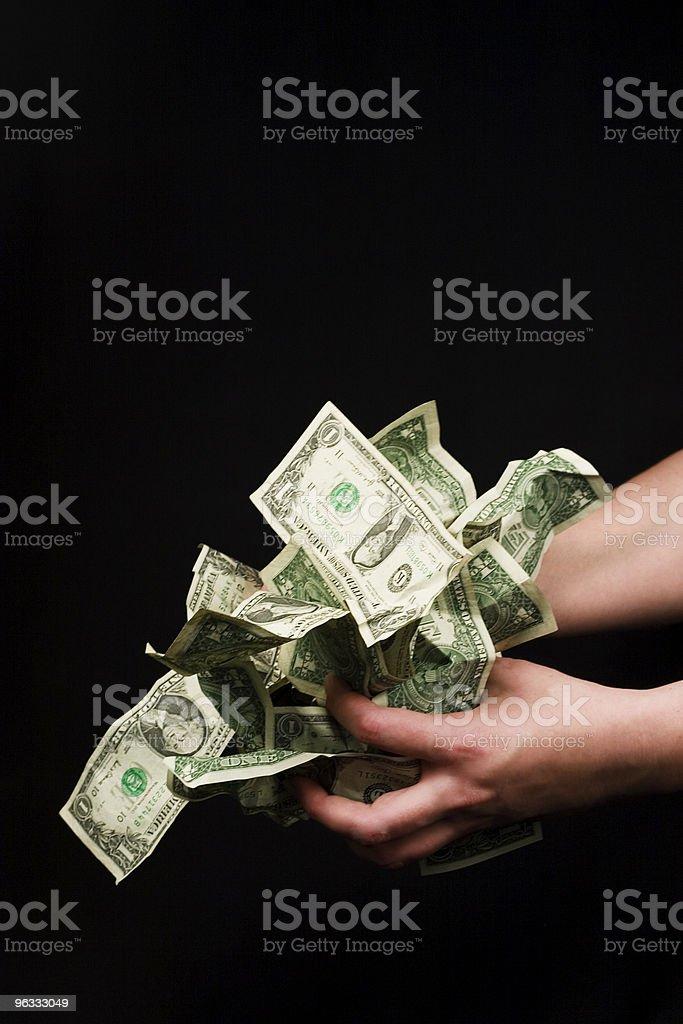 Moneygrabber royalty-free stock photo