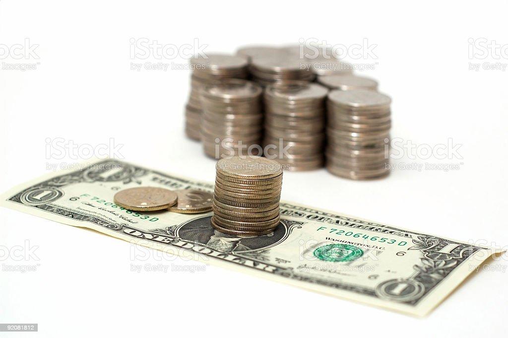 Moneys royalty-free stock photo