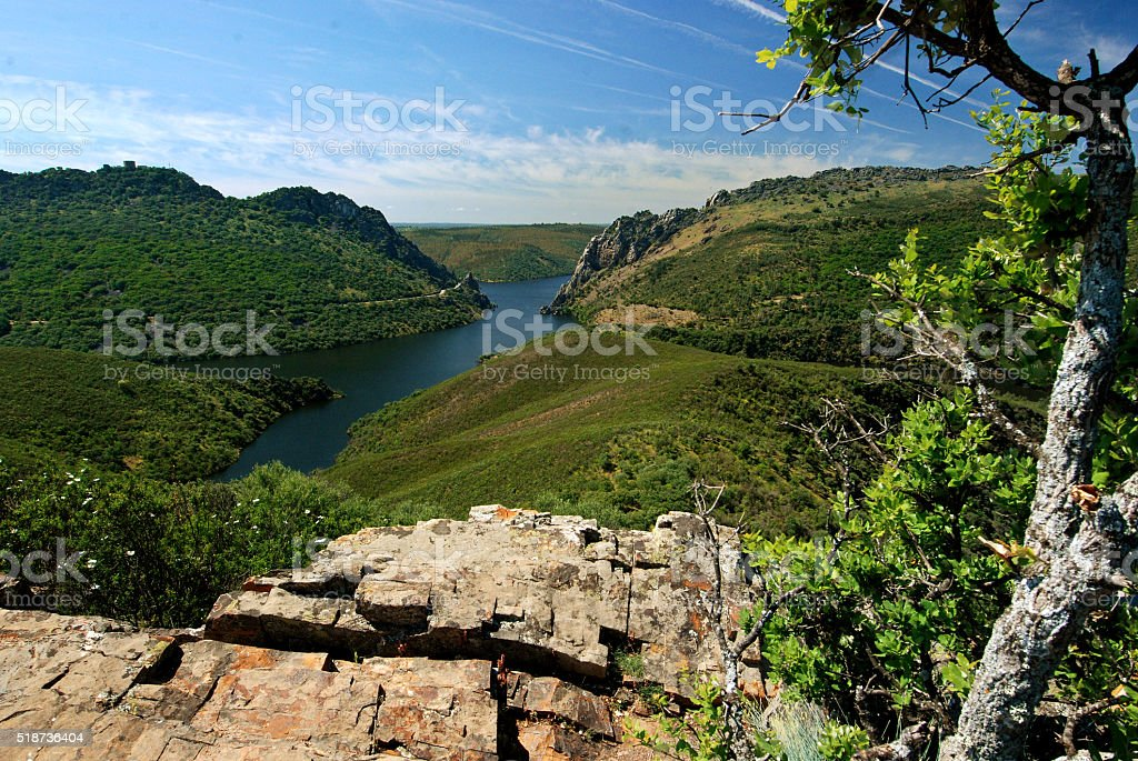 Monfraque National Park Spain stock photo