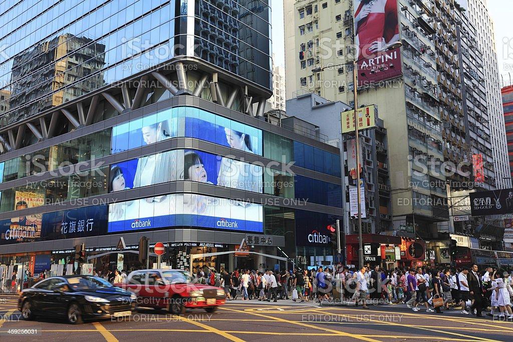 Mong Kok Hong Kong royalty-free stock photo