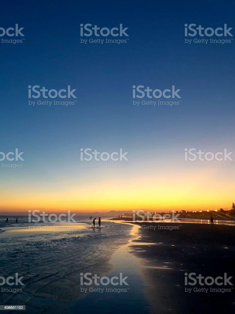 Mongaguá Beach stock photo