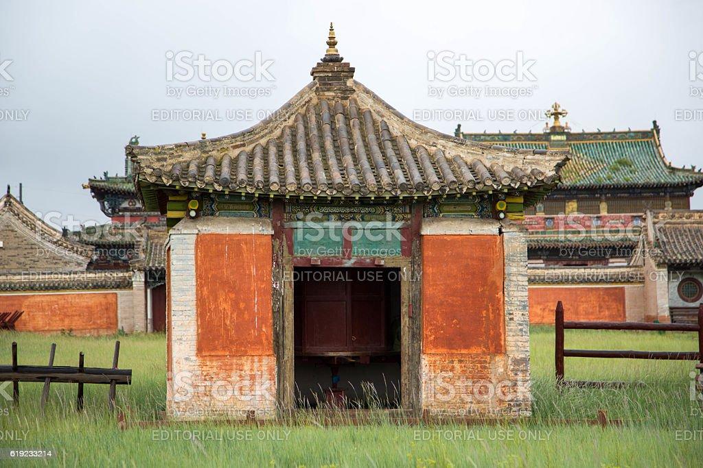 Mongolia: Erdene Zuu Monastery stock photo