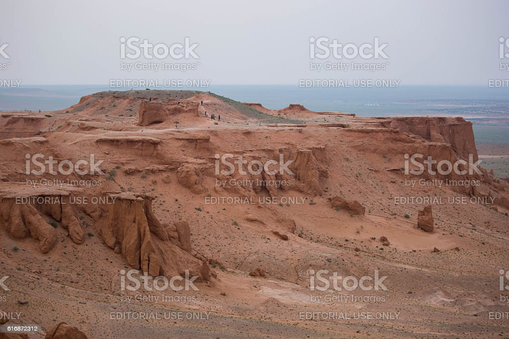 Mongolia: Flaming Cliffs stock photo