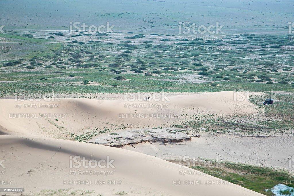 Mongolia: Gobi Desert stock photo