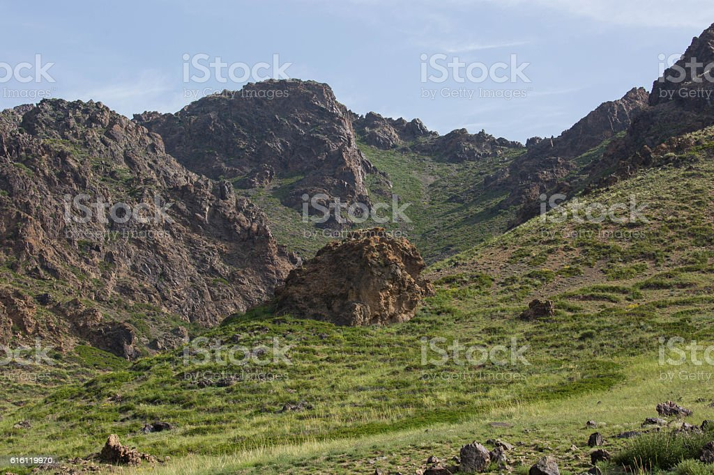 Mongolia: Gobi Gurvansaikhan National Park stock photo
