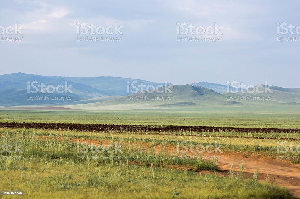 Mongolia: Khustai National Park stock photo
