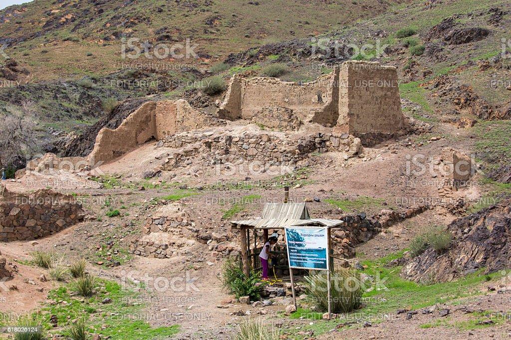 Mongolia: Ongi Monastery (Ongiin Khiid) stock photo
